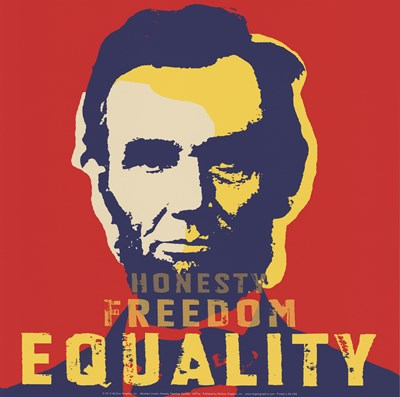 Abraham Lincoln:  Honesty, Freedom, Equality Poster by Unknown for $20.00 CAD