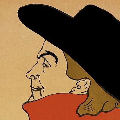 Aristide Bruant (detail) Poster by Henri de Toulouse-Lautrec for $18.75 CAD