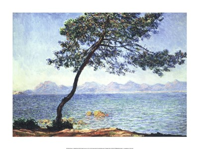 Antibes View Poster by Claude Monet for $46.25 CAD