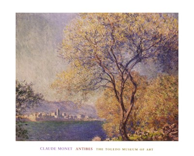 Antibes, c.1888 Poster by Claude Monet for $32.50 CAD
