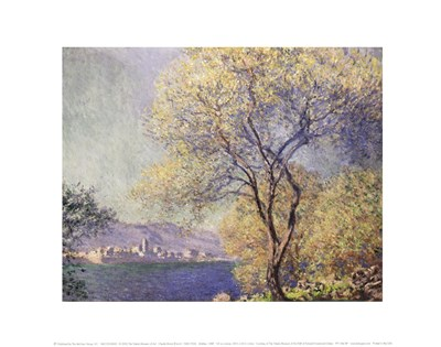 Antibes, c.1888 Poster by Claude Monet for $16.25 CAD