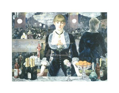 A Bar at the Folies-Bergere Poster by Edouard Manet for $16.25 CAD