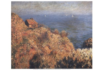 Fishermans lodge at Varengeville Poster by Claude Monet for $20.00 CAD