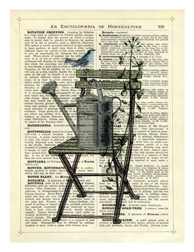 Gardener's Chair Poster by Marion McConaghie for $40.00 CAD