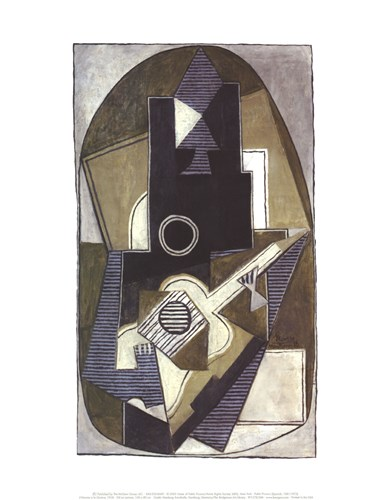 L'Homme a la Guitare, 1918 Poster by Pablo Picasso for $16.25 CAD