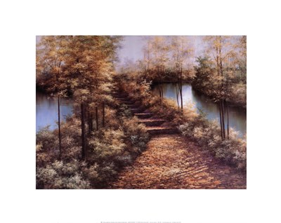 Autumn Leaves Poster by Diane Romanello for $26.25 CAD