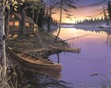 Canoe at the Cabin