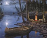 Camp Fire Canoe