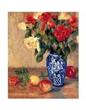 Roses in a Mexican Vase