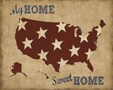 My Home Sweet Home USA Map