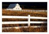 White Bitterroot Barn