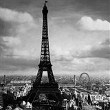 The Eiffel Tower, Paris France, 1897