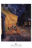 The Cafe Terrace on the Place du Forum, Arles, at Night, c.1888
