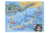 Florida Keys Beach Map