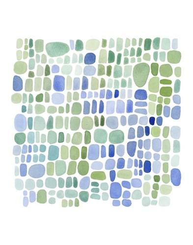 Series Sea Glass No. II Poster by Louise Van Terheijden for $16.25 CAD