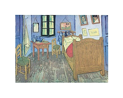 Bedroom at Arles Poster by Vincent Van Gogh for $20.00 CAD