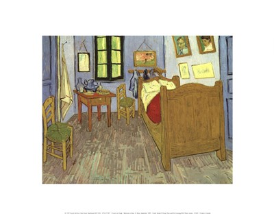 Bedroom at Arles Poster by Vincent Van Gogh for $15.00 CAD