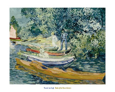 Bank of the Oise at Auvers, 1890 Poster by Vincent Van Gogh for $30.00 CAD