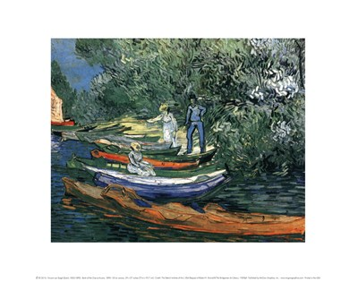 Bank of the Oise at Auvers, 1890 Poster by Vincent Van Gogh for $15.00 CAD