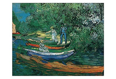 Bank of the Oise at Auvers, 1890 Poster by Vincent Van Gogh for $20.00 CAD