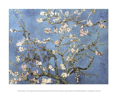 Almond Blossom, 1890 Poster by Vincent Van Gogh for $16.25 CAD