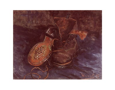 A Pair of Boots, c.1887 Poster by Vincent Van Gogh for $17.50 CAD
