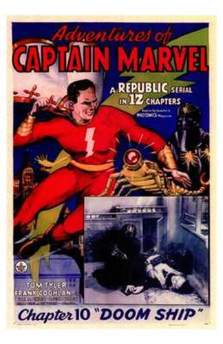 Adventures of Captain Marvel - style A Poster by Unknown for $26.25 CAD