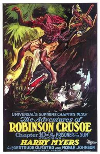 Adventures of Robinson Crusoe Poster by Unknown for $26.25 CAD
