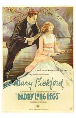 Daddy Long Legs - Couple on a bench Poster by Unknown for $26.25 CAD