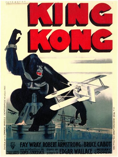 King Kong on top of Empire State Building Poster by Unknown for $26.25 CAD