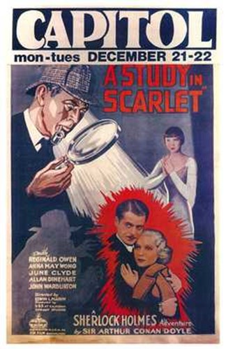 A Study in Scarlet Poster by Unknown for $26.25 CAD
