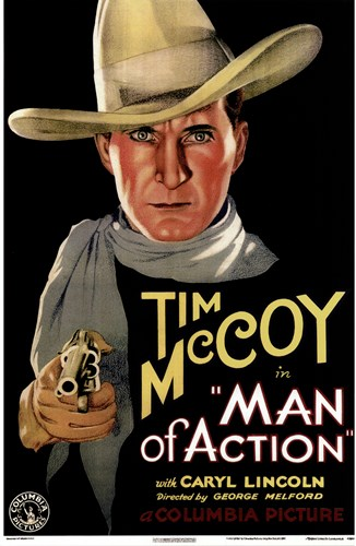 Man of Action Poster by Unknown for $26.25 CAD