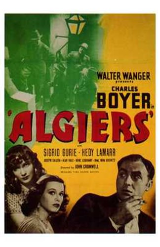 Algiers Poster by Unknown for $26.25 CAD