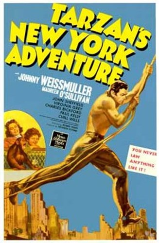Tarzan's New York Adventure, c.1942 Poster by Unknown for $26.25 CAD
