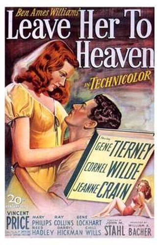 Leave Her to Heaven Poster by Unknown for $26.25 CAD