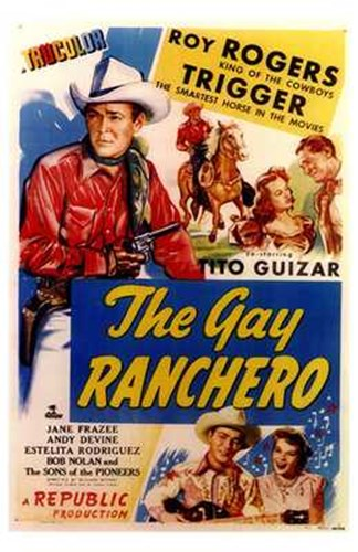 The Gay Ranchero Poster by Unknown for $26.25 CAD