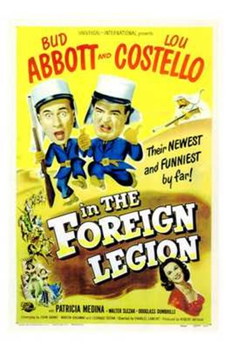 Abbott and Costello in the Foreign Legion, c.1950 Poster by Unknown for $26.25 CAD