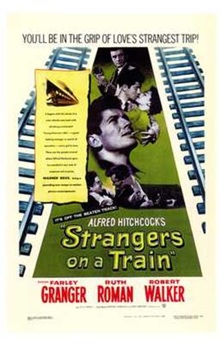 Strangers on a Train Poster by Unknown for $26.25 CAD