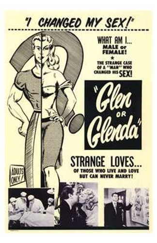Glen or Glenda Poster by Unknown for $26.25 CAD
