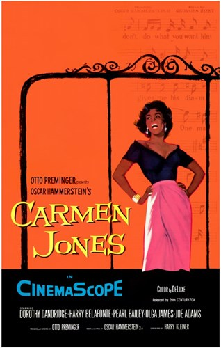 Carmen Jones Poster by Unknown for $26.25 CAD