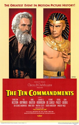 The Ten Commandments Pharoah Poster by Unknown for $26.25 CAD