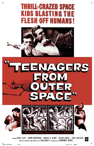 Teenagers from Outer Space Poster by Unknown for $26.25 CAD