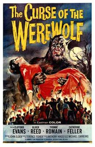 The Curse of the Werewolf Poster by Unknown for $26.25 CAD
