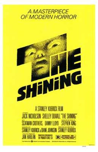 The Shining - yellow Poster by Unknown for $26.25 CAD