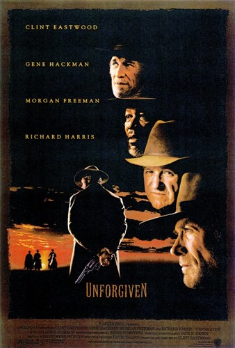 Unforgiven - Clint Eastwood Poster by Unknown for $26.25 CAD