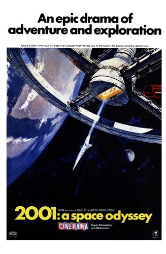 2001: a Space Odyssey An Epic Drama Poster by Unknown for $26.25 CAD