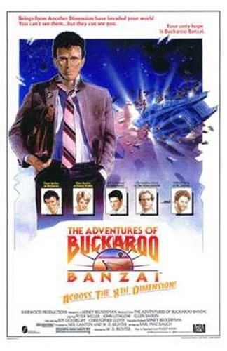 Adventures of Buckaroo Banzai Across the Poster by Unknown for $26.25 CAD