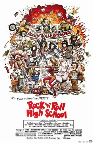 Rock N Roll High School Poster by Unknown for $26.25 CAD