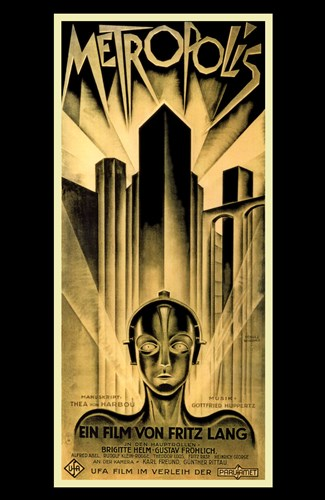 Metropolis Gold Poster by Unknown for $26.25 CAD