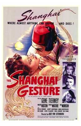 The Shanghai Gesture Poster by Unknown for $26.25 CAD